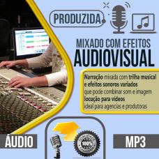 Audiovisual produzida com locução profissional pode escolher qualquer uma das vozes do nosso cast, vozes masculina, feminina, infantil ou caricata