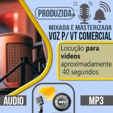 Voz p/  VT Comercial locução com voz profissional pode escolher qualquer uma das vozes do nosso cast, vozes masculina, feminina, infantil ou caricata